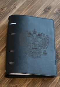Ежедневник Из Натуральной Кожи (Герб)