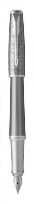 Перьевая ручка Parker Urban Premium Silvered Powder CT