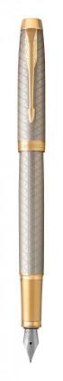 Перьевая ручка Parker IM Premium Warm Silver GT