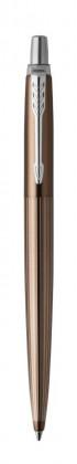 Шариковая ручка Parker Jotter Premium Carlisle Brown Pinstripe CT