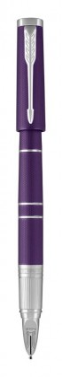 Ручка Parker 5-th Пятый элемент Ingenuity Deluxe Slim Blue Violet CT