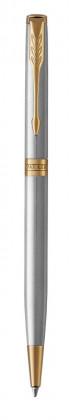 Шариковая ручка Parker Sonnet Stainless Steel GT Slim