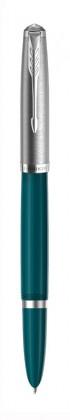 Перьевая Ручка Parker 51 Core Teal Blue CT