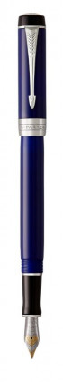 Перьевая ручка Parker Duofold Prestige Centennial Blue And Black CT
