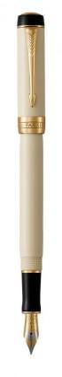 Перьевая ручка Parker Duofold Prestige Centennial Ivory And Black GT