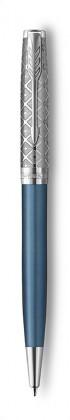 Шариковая Ручка Parker Sonnet Premium Metal Blue CT