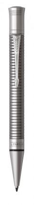 Шариковая ручка Parker Duofold Prestige Ruthenium Chiselled CT