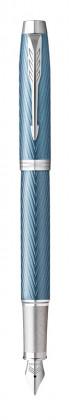 Ручка перьевая Parker IM Premium Blue Grey CT