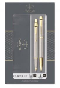 Набор Parker IM Brushed Metal GT Core TK223