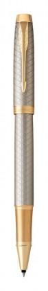 Ручка роллер Parker IM Premium Warm Silver GT