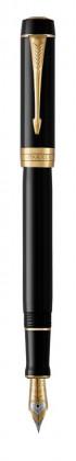 Перьевая ручка Parker Duofold Classic Centennial Black GT