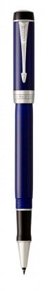 Ручка роллер Parker Duofold Prestige Centennial Blue And Black CT