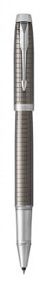 Ручка роллер Parker IM Premium Dark Espresso Ciselled CT