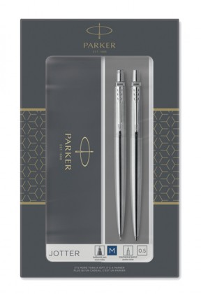 Подарочный набор Parker Jotter Core Stainless Steel CT