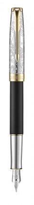 Перьевая ручка Parker Sonnet Special Edition 2018 Impression Matte Black GT