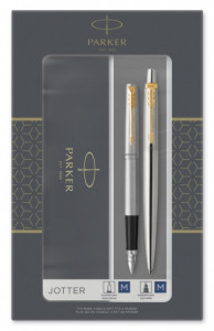 Набор Parker Jotter Core Stainless Steel GT