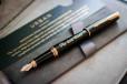 Перьевая ручка Parker Urban Black GT