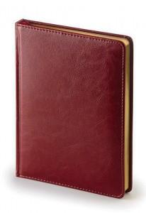 Ежедневник недатированный А5 (бордовый)