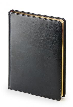 Ежедневник недатированный А5 Sidney (чёрный)