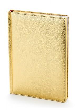 Ежедневник недатированный А5 (золото)