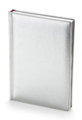 Ежедневник недатированный А5 Sidney (серебро)