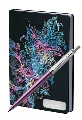 Подарочный набор Шариковая Ручка Parker Jotter Victoria Violet CT Vibrance