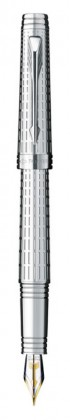 Перьевая ручка Parker Premier Deluxe Silvery ST (2013)