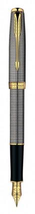 Перьевая ручка Parker Sonnet Sterling Silver Cisel GT