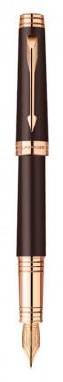 Перьевая ручка Parker Premier Soft Brown PGT