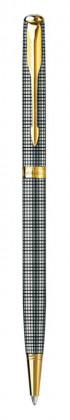Шариковая ручка Parker Sonnet Sterling Silver Cisel Slim