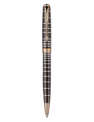 Шариковая ручка PARKER SONNET PREMIUM MASCULINE BROWN PGT