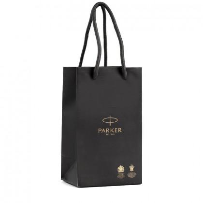 Фирменный бумажный  пакет Parker (Premium) маленький