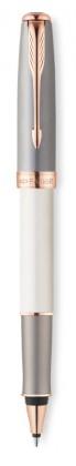 Ручка роллер Parker Sonnet Subtle Pearl & Grey GT