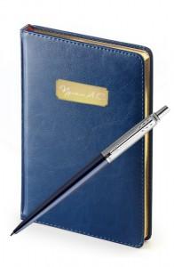 Подарочный набор с ежедневником JOTTER Royal Blue
